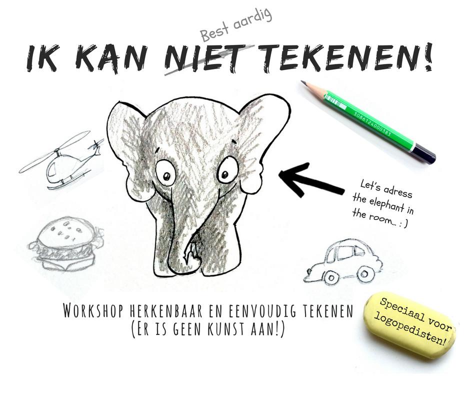 Workshop Herkenbaar En Eenvoudig Tekenen Voor Logopedisten